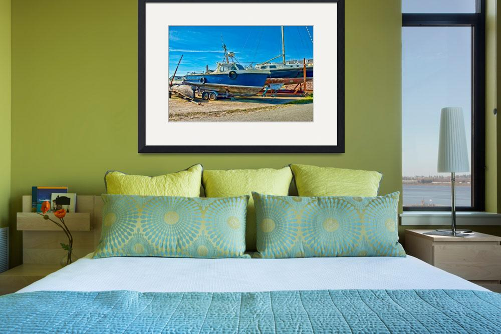 """""""Boats At Rest""""  (2009) by NJKPhotography"""