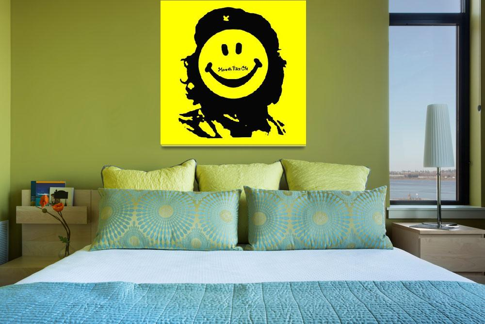 """""""Have A Nice Che Guevara&quot  (2013) by RubinoFineArt"""