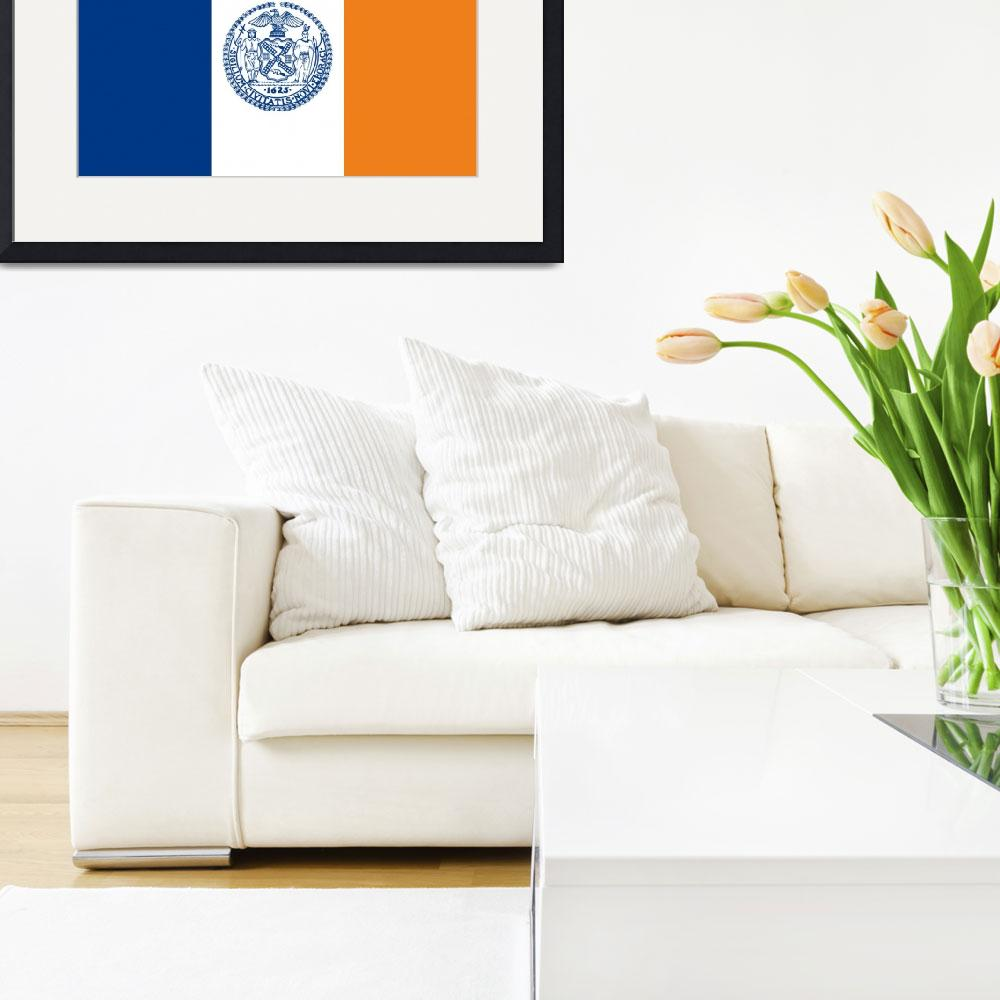 """new york city flag""  by tony4urban"