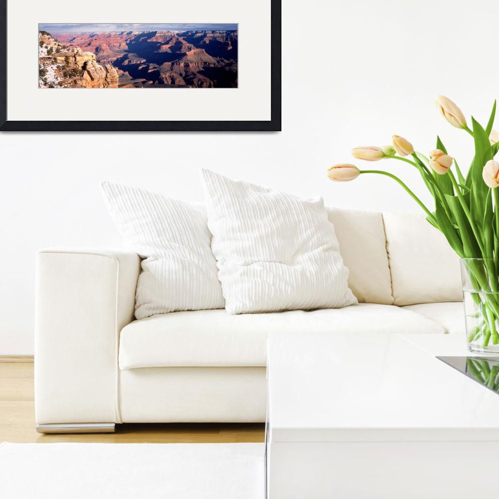 """""""Grand Canyon from Matter Pt AZ&quot  by Panoramic_Images"""