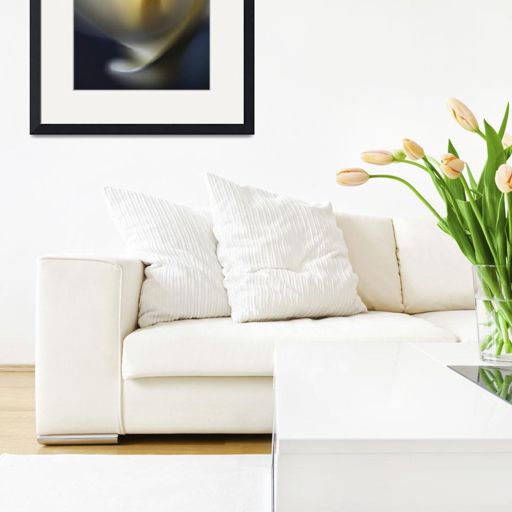 """""""white calla lily&quot  (2015) by JulieScholz"""