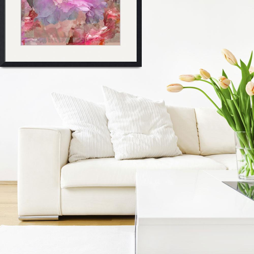 """""""Floral Potpourri with Peonies 33&quot  by LyndaLehmann"""
