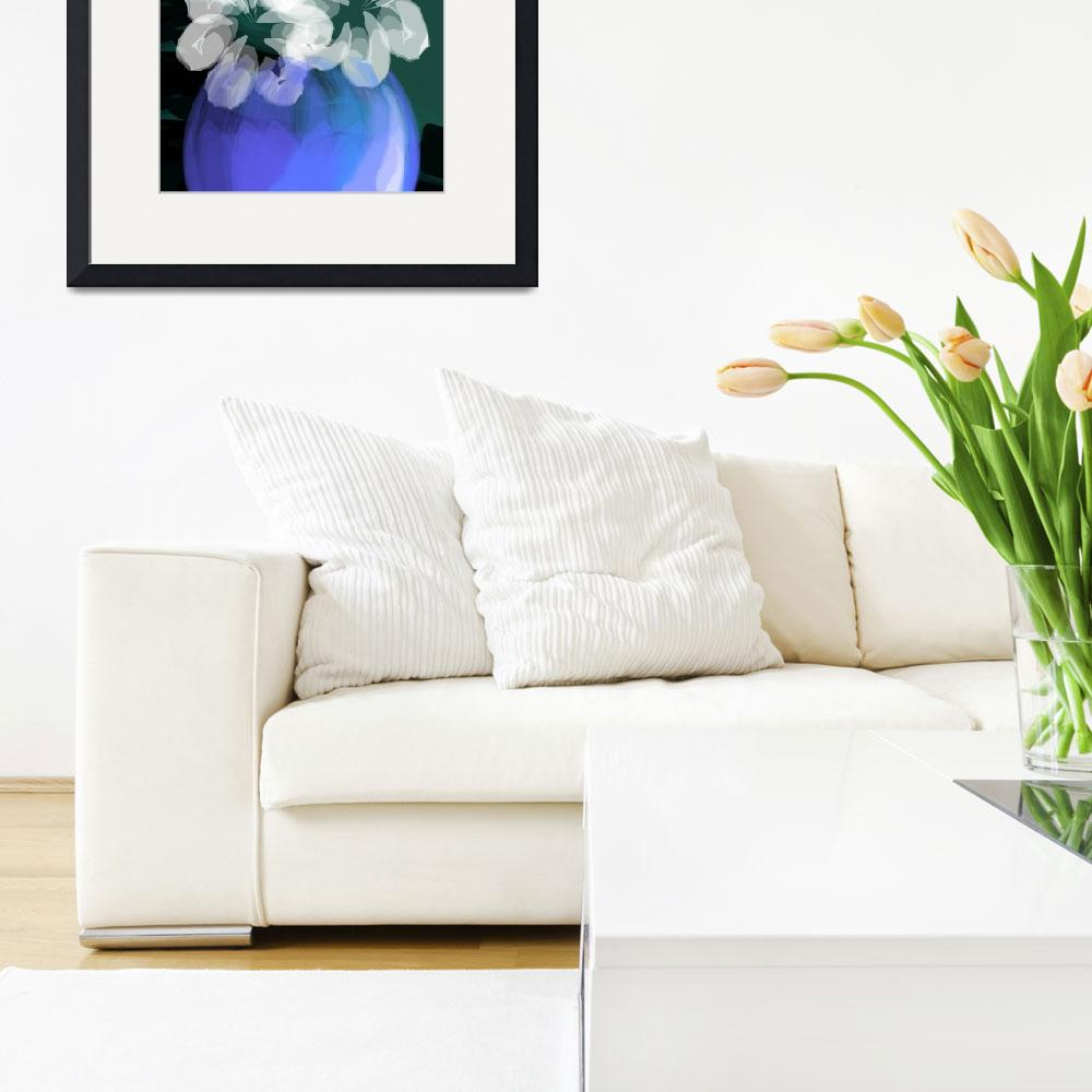 """""""Digital painting of flower&quot  (2009) by digitalpainting"""