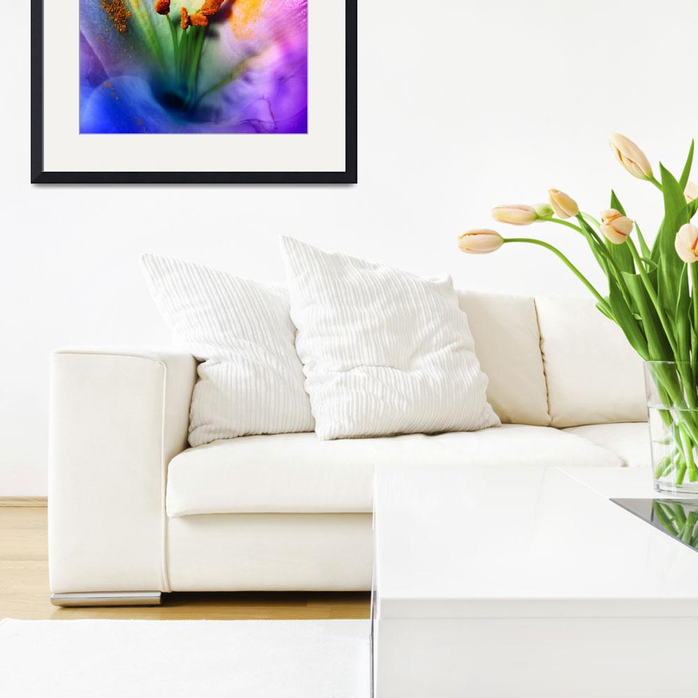 """""""Lily-in-color&quot  (2009) by AnneVis"""