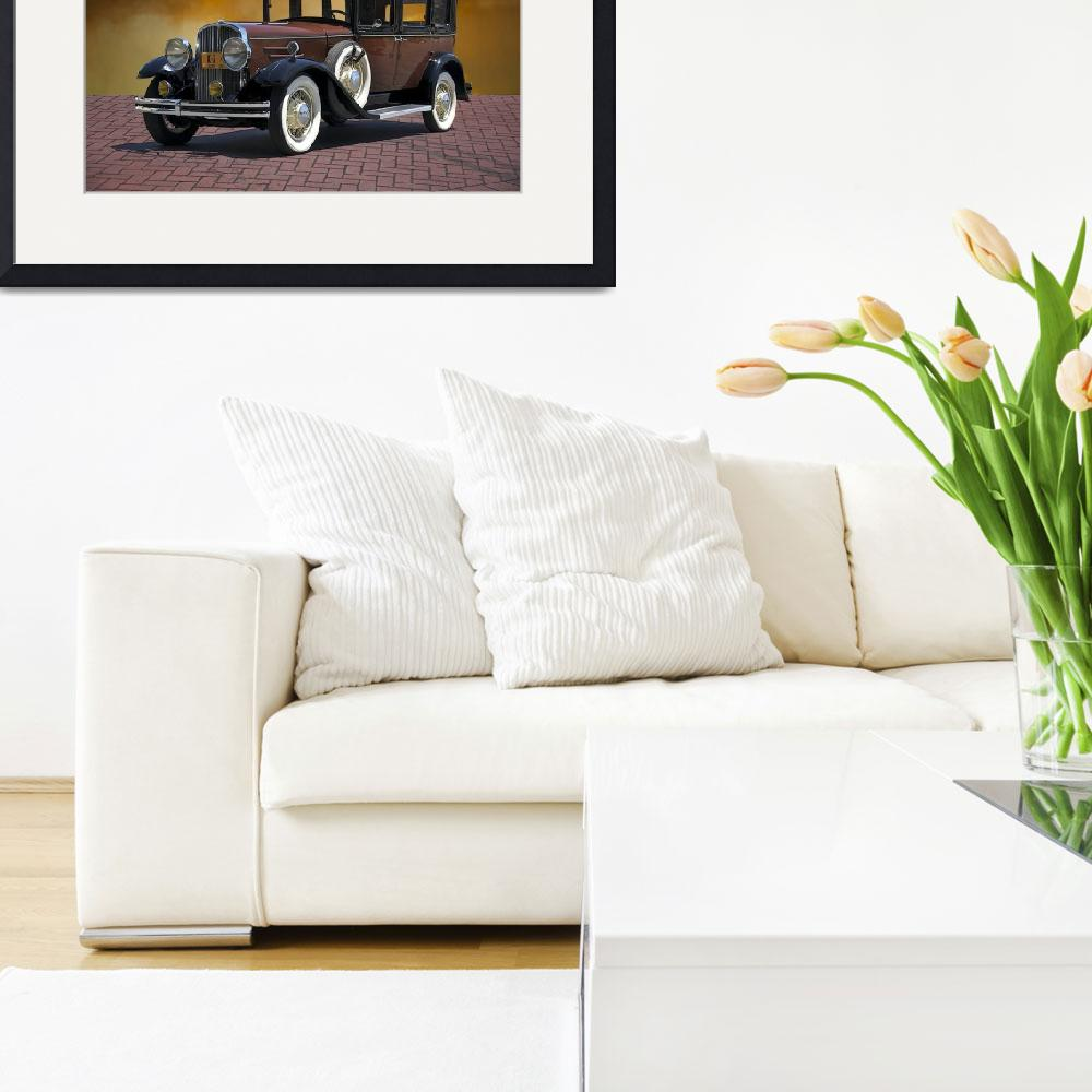 """1930 Franklin Formal Sedan&quot  by FatKatPhotography"