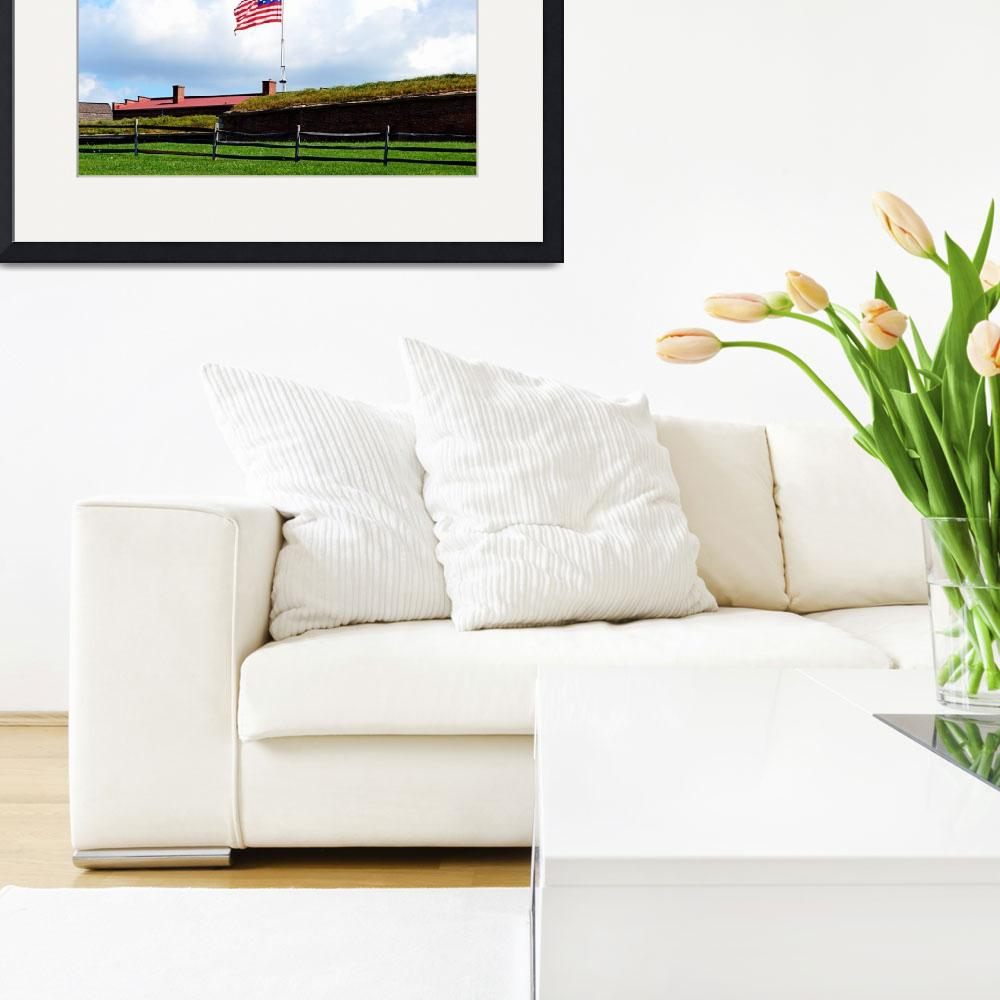 """Star Spangled Banner, Fort McHenry&quot  by Artsart"