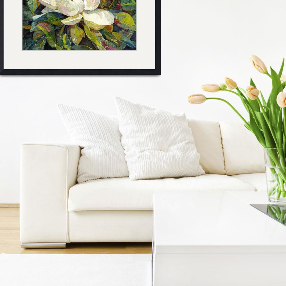 """""""Magnolia Blossom&quot  (2015) by HaileyWatermedia"""