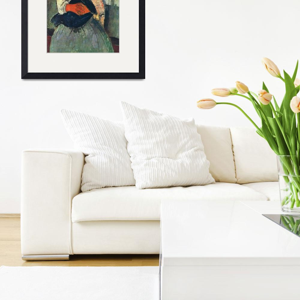 """""""Amedeo Clemente Modigliani Painting 83&quot  by ArtLoversOnline"""