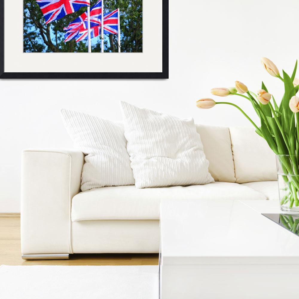 """""""Union Flags, Flags of Great Britain&quot  (2013) by BryanWB"""