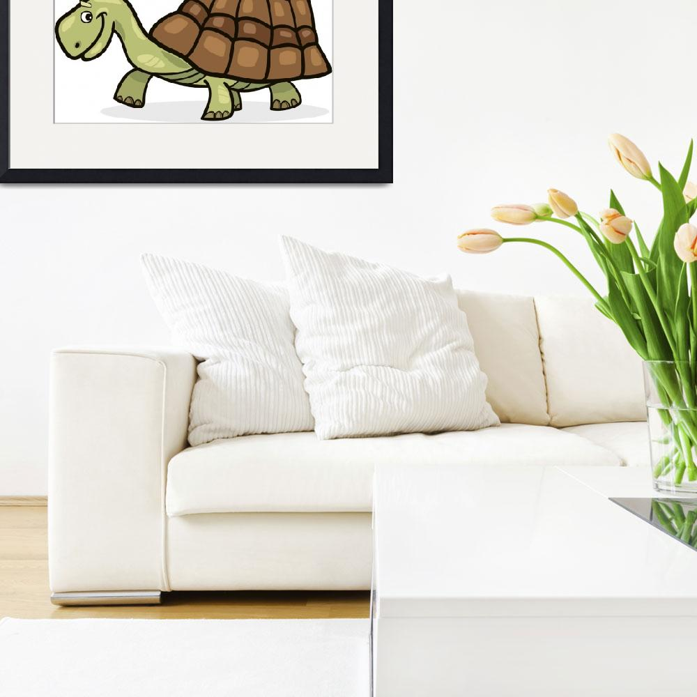 """""""turtle&quot  (2010) by cartoonfactory"""