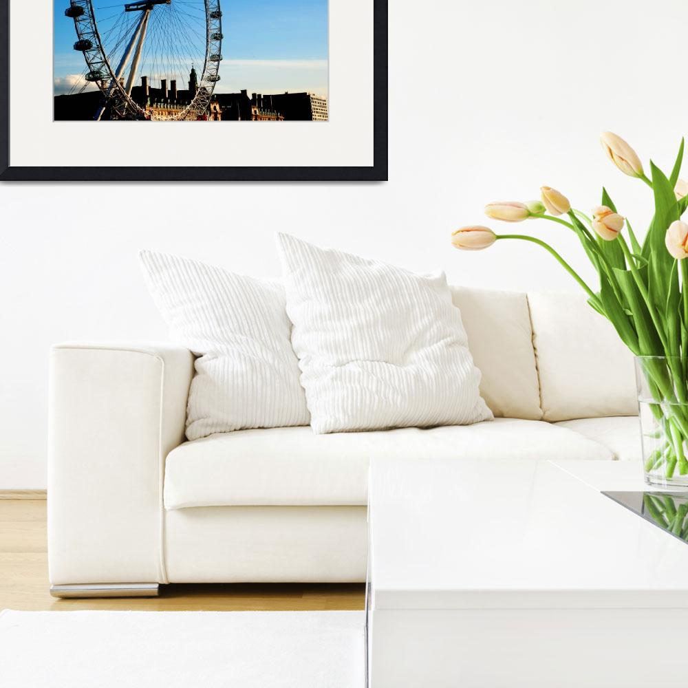 """""""London Eye&quot  (2010) by esinphotography"""