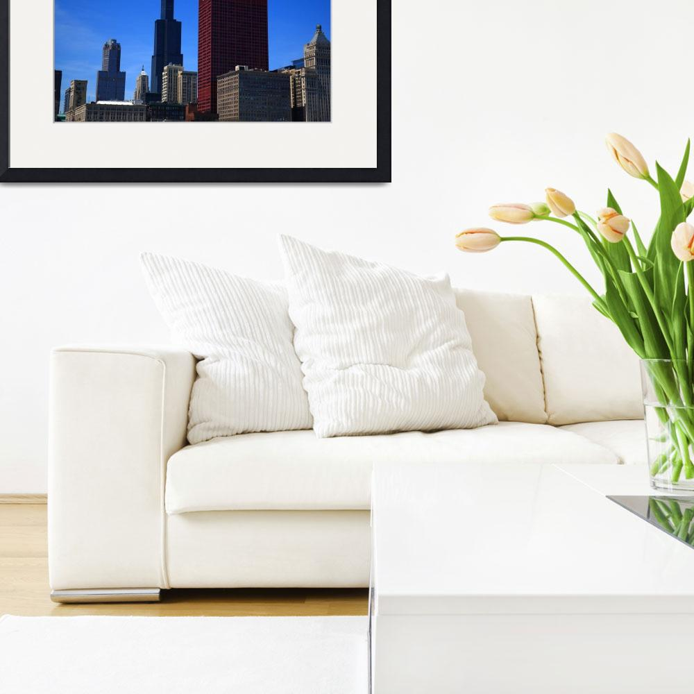 """""""Chicago Skyline 2010""""  (2010) by Ffooter"""