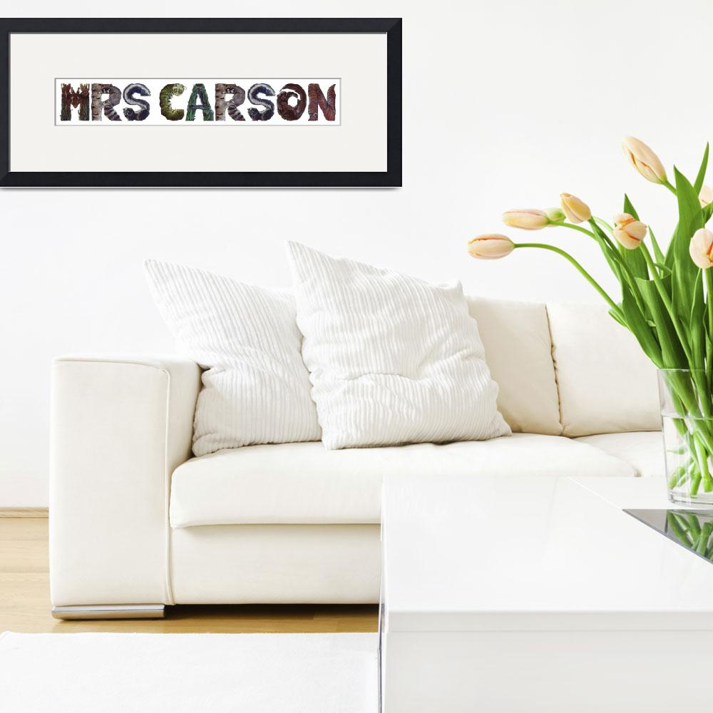 """""""Mrs Carson&quot  by animalsoup"""