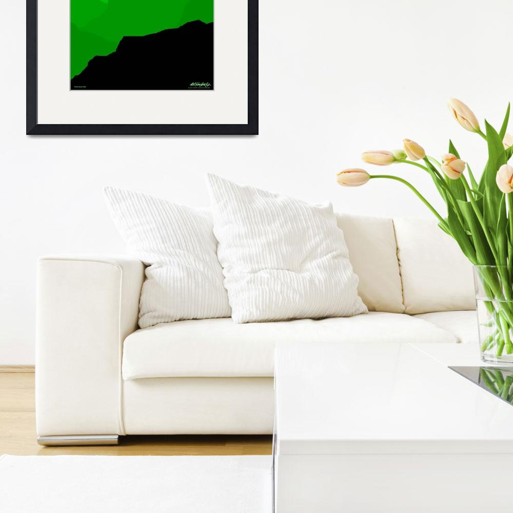 """""""Grand Canyon - green - Art Gallery Selection&quot  by Lonvig"""