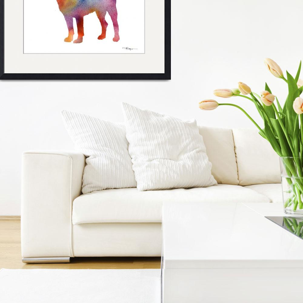 """""""Greater Swiss Mountain Dog&quot  (2015) by k9artgallery"""