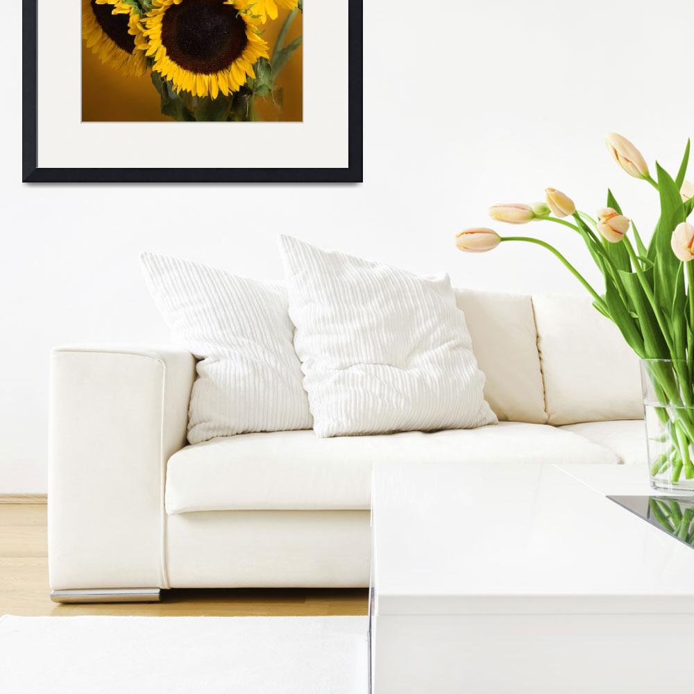 """""""Sunflowers together&quot  (2001) by bobbyb236"""