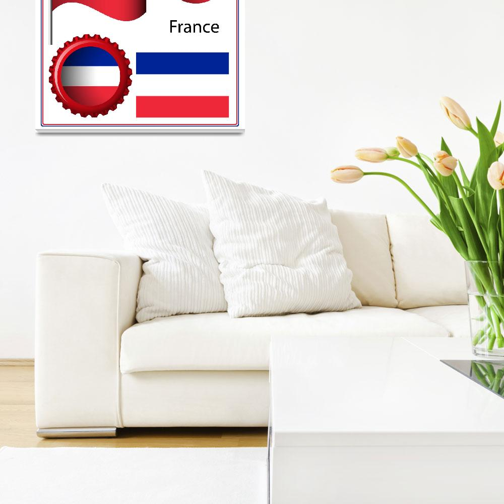 """france graphic set""  by robertosch"