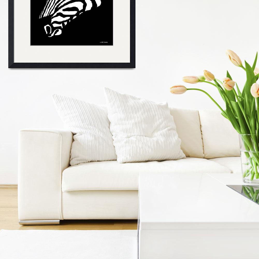 """Zebra Art&quot  by waterart"