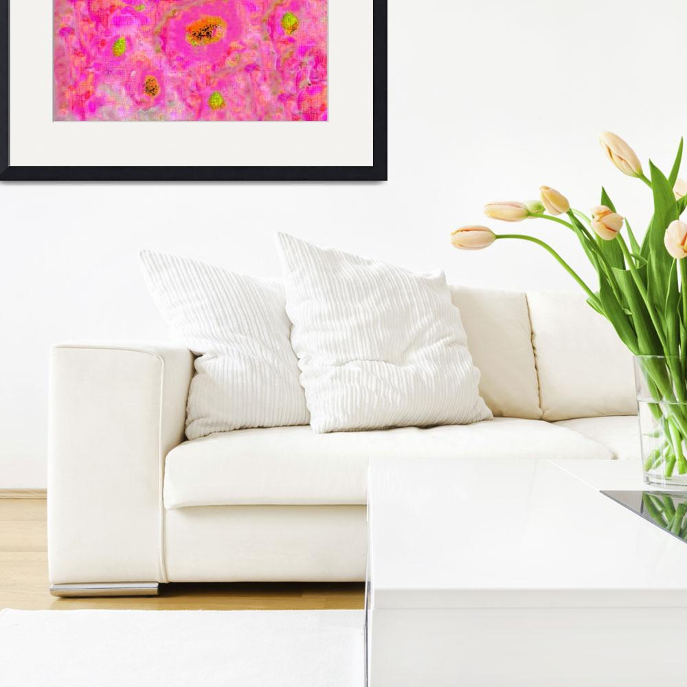 """""""Floral Abstract A81116&quot  (2016) by MasArtStudio"""