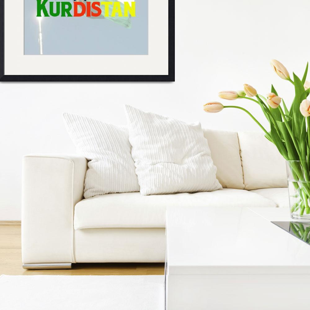 """""""Support Kurdistan Poster 2&quot  by motionage"""