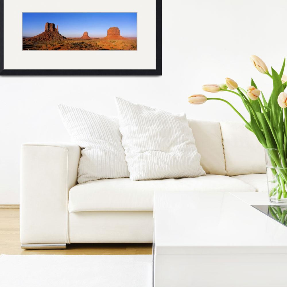 """""""Monument Valley Tribal Park Navajo Reservation AZ&quot  by Panoramic_Images"""