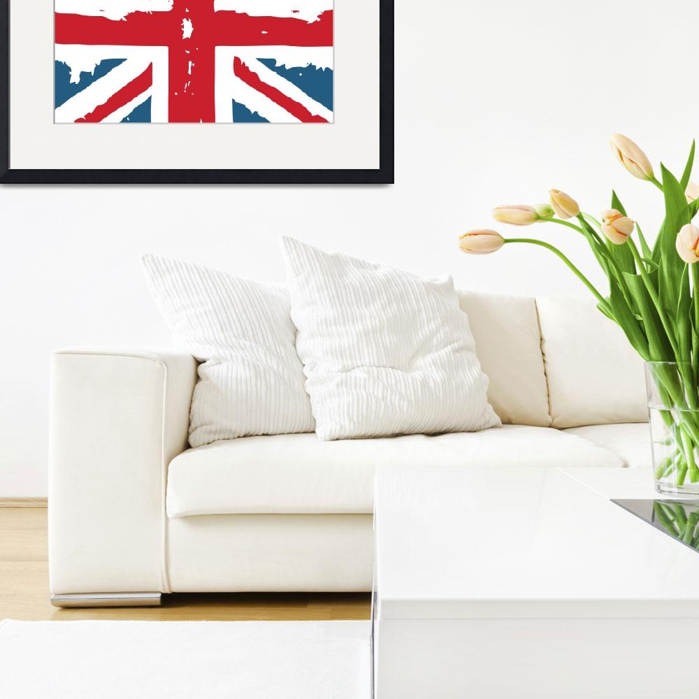 """""""Union Jack&quot  (2009) by whitewallgallery"""