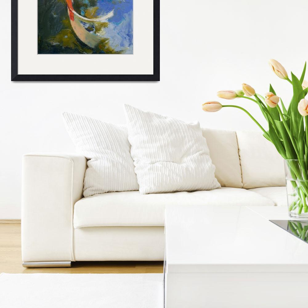 """""""Butterfly Koi Painting&quot  by creese"""