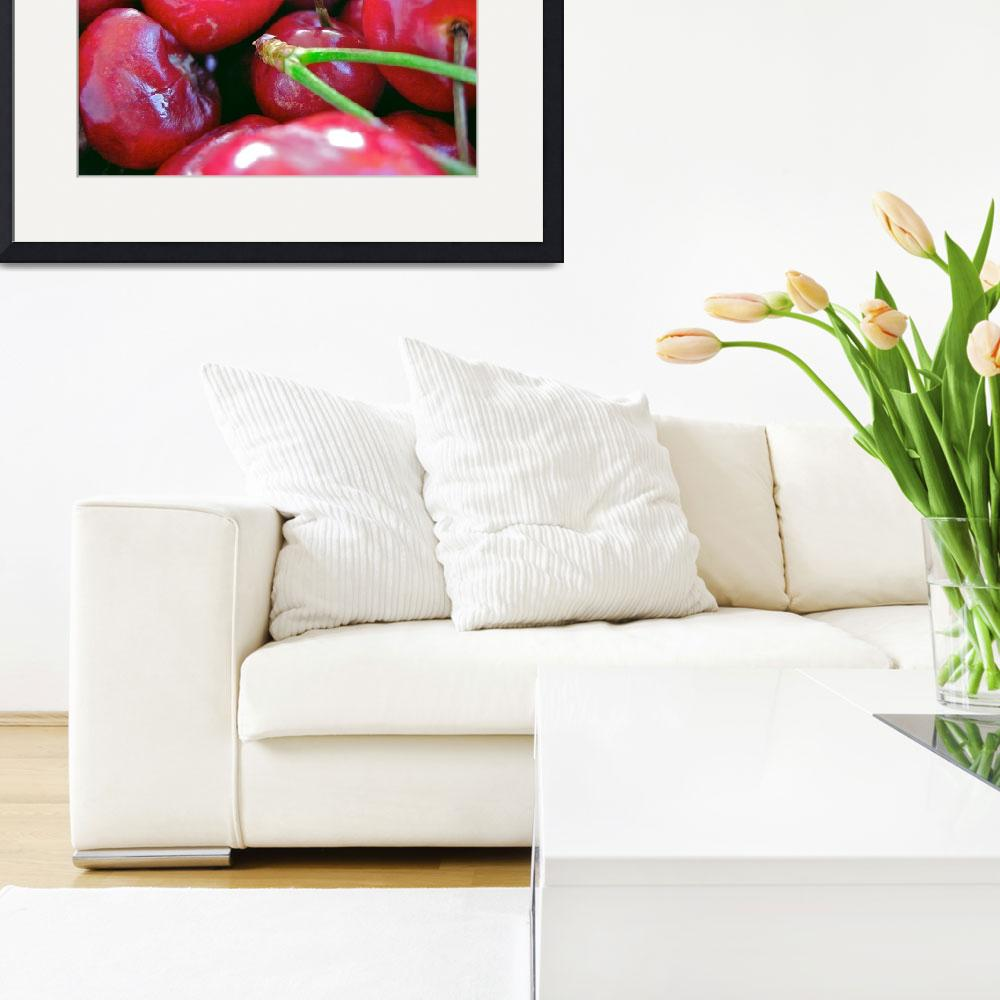 """""""Cherries with Select Stems""""  by sabreentertainment"""