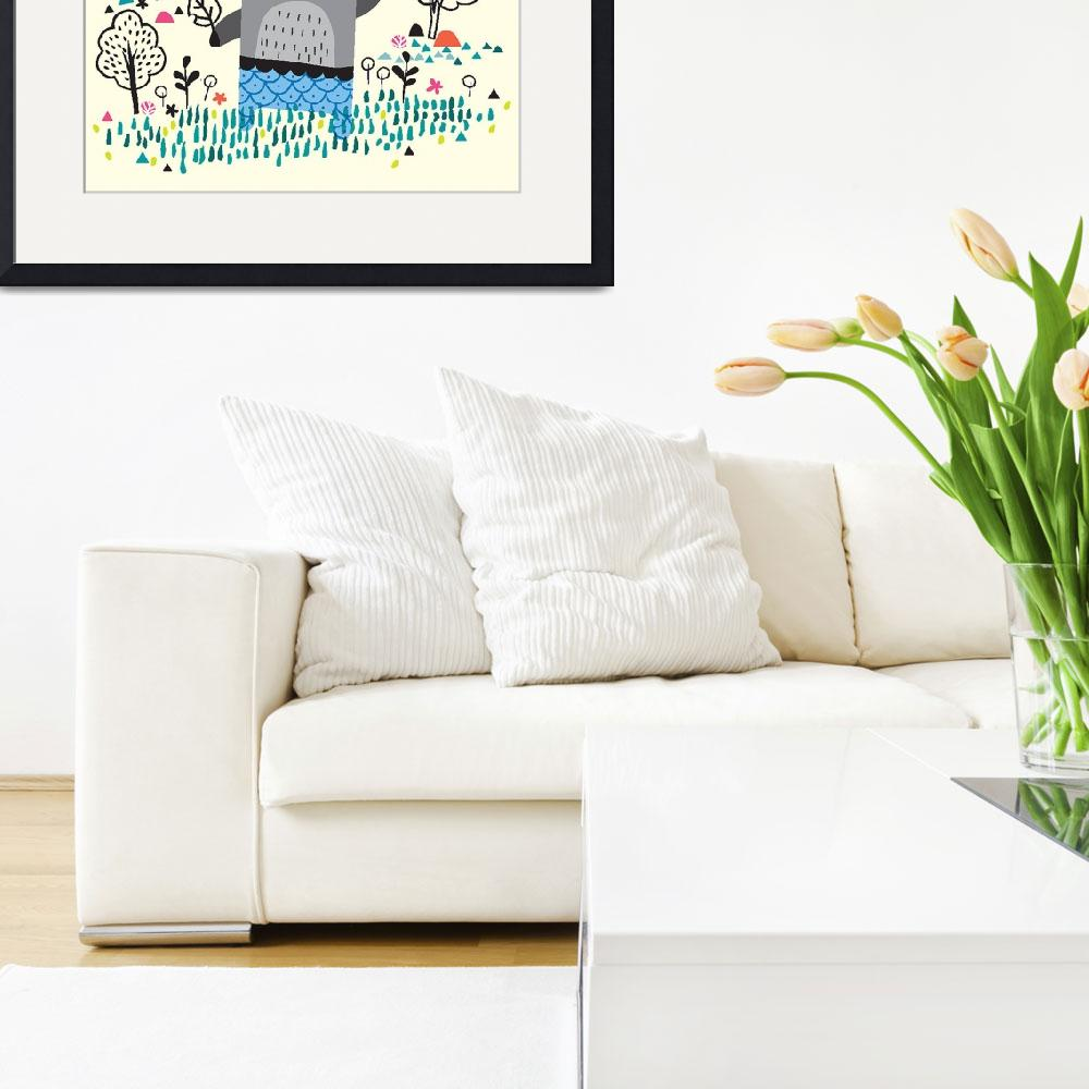 """Tasto Art Collection Framed Print&quot  by buddakats1"