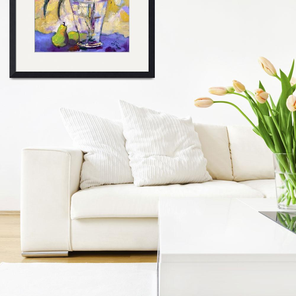 """""""Daffodils Still life Oil Painting by Ginette Calla&quot  (2006) by GinetteCallaway"""