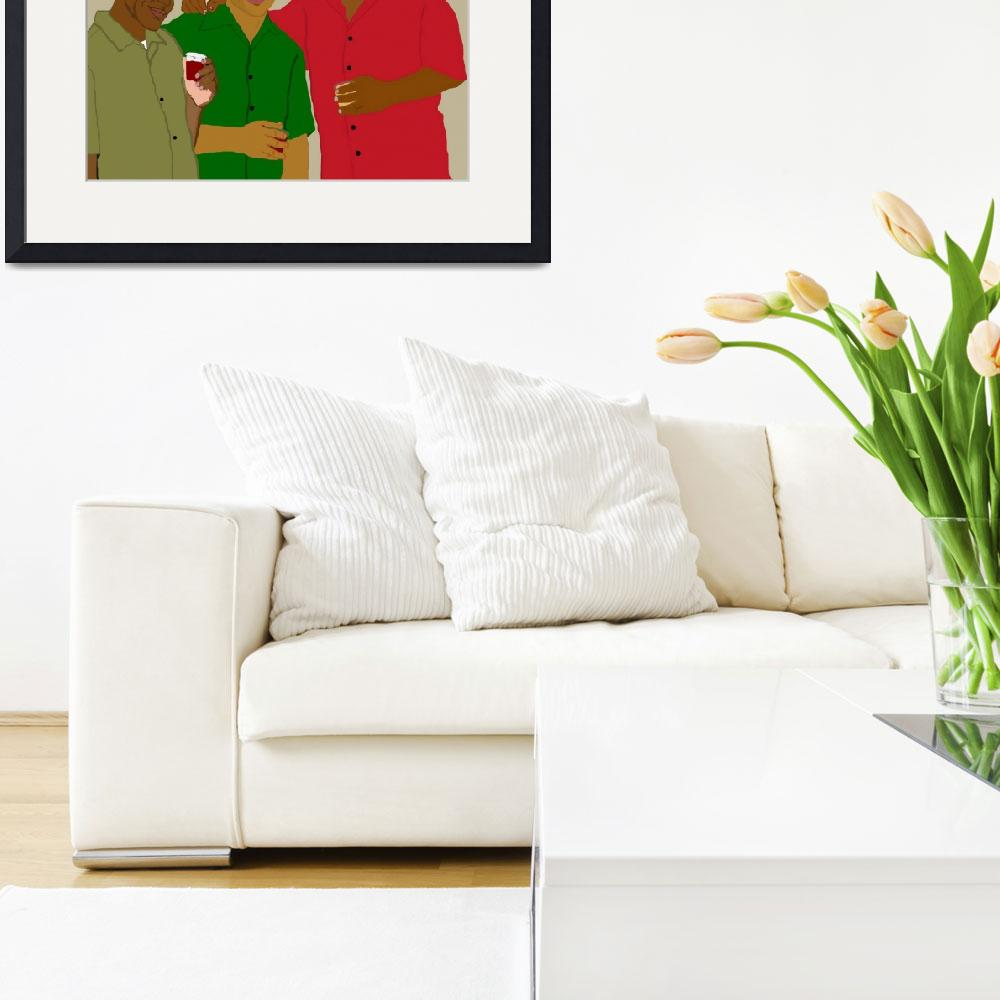 """""""3 Buds&quot  by pharrisart"""