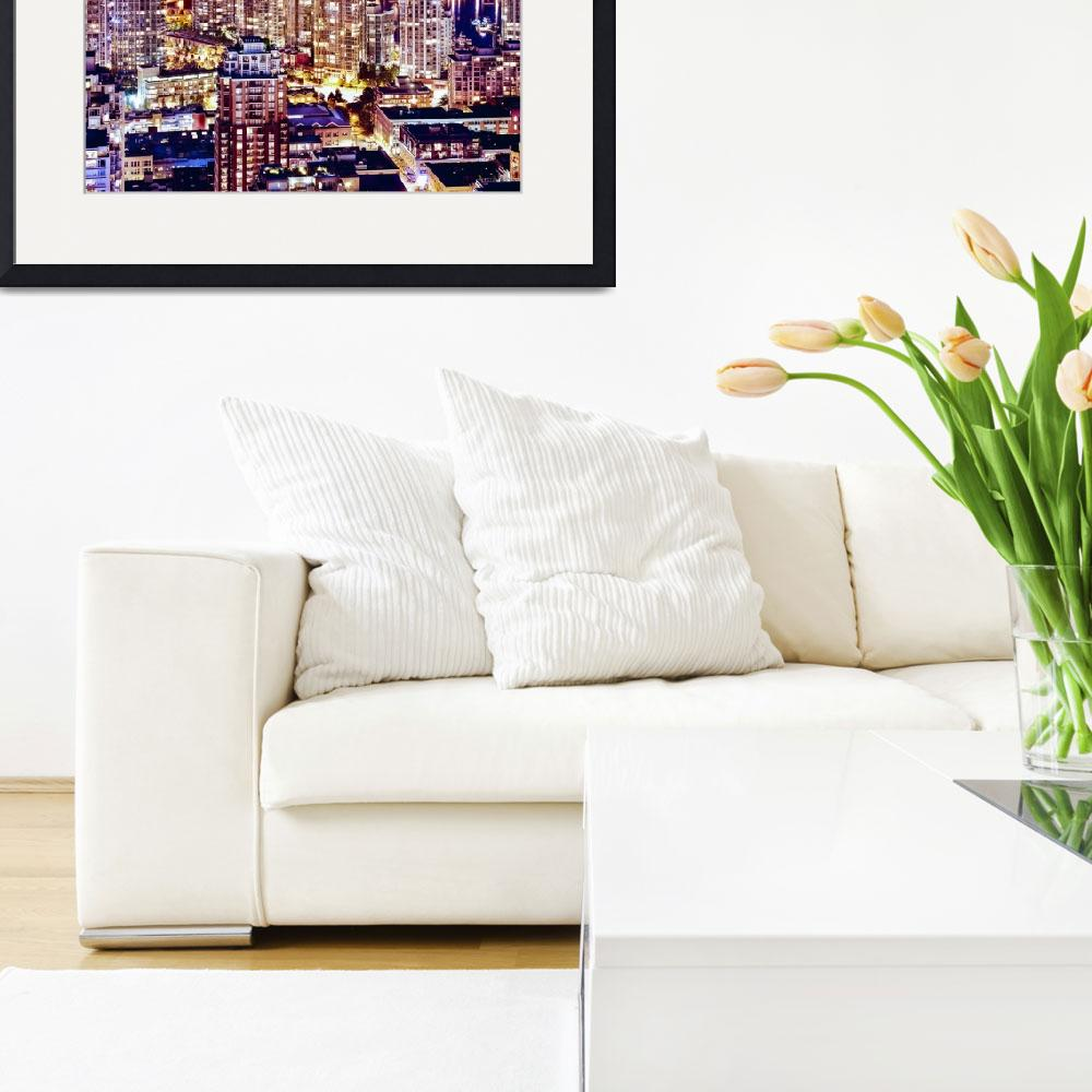 """""""Yaletown Vancouver Cityscape""""  by amynnasser"""