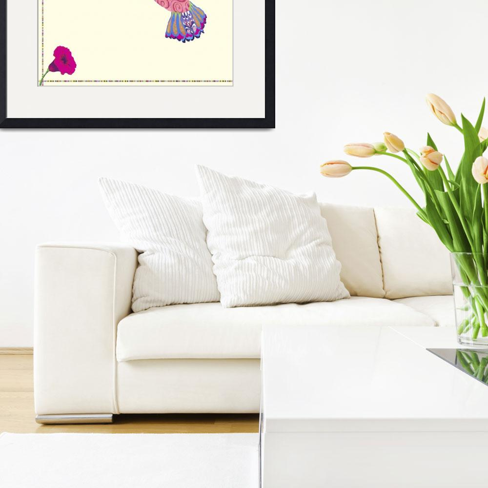 """Hummingbird&quot  by artlicensing"