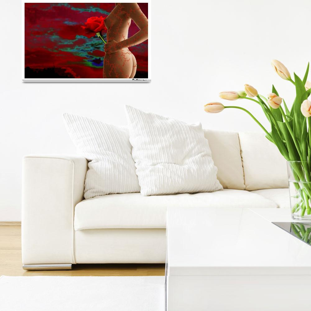 """""""Thorns Nude&quot  (2009) by brianisaacsart"""