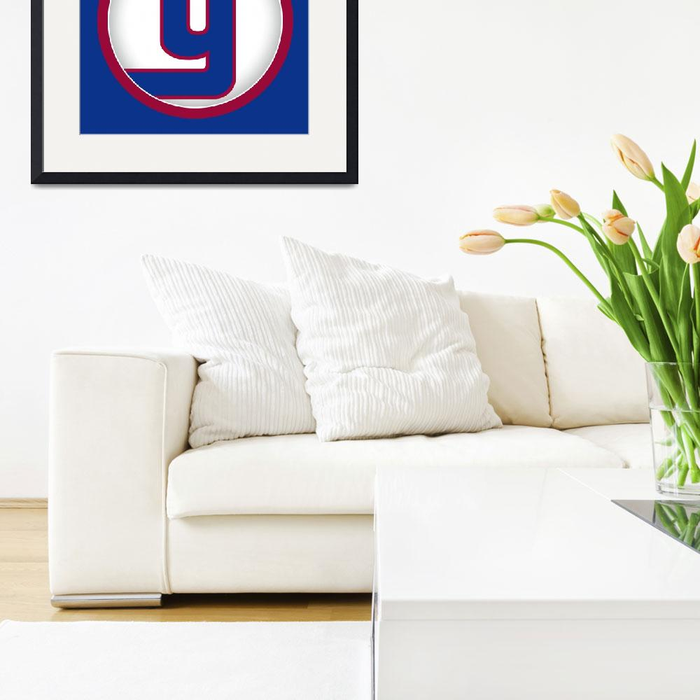 """""""Y-NY-Giants&quot  by LetterPopArt"""
