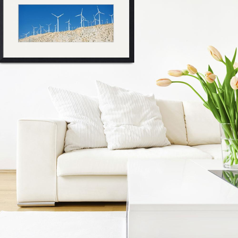 """""""Palm Spring Windmills (16)&quot  by GijsBrouwer"""