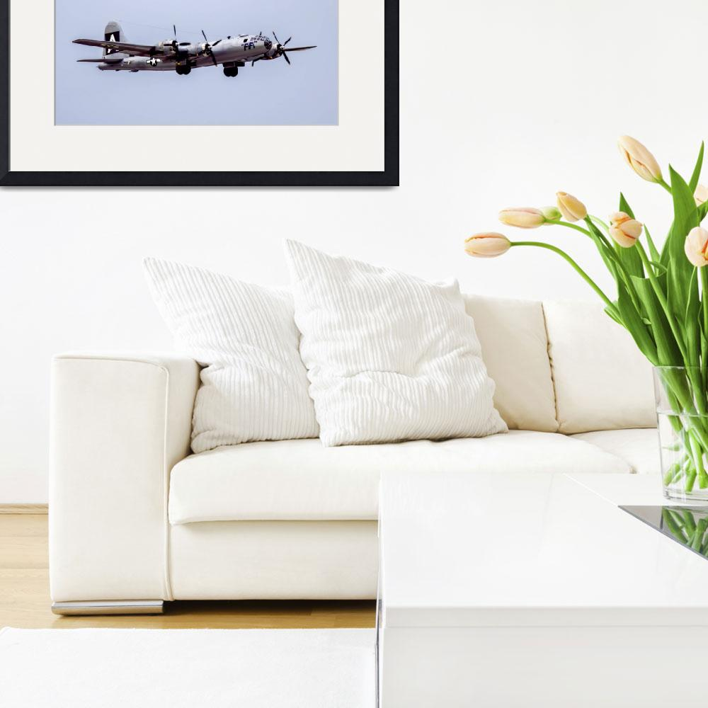 """""""B-29 Superfortress&quot  (2015) by patsphotos"""