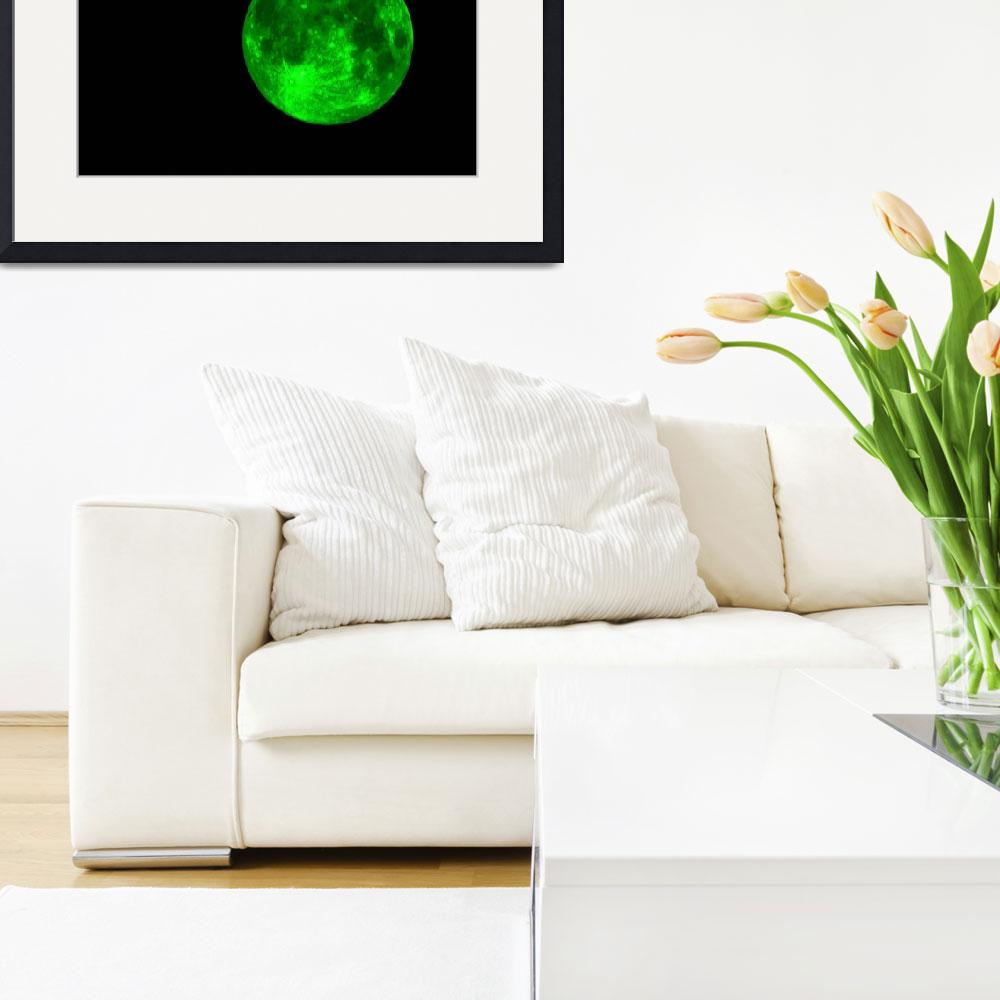 """""""Green Moon&quot  (2013) by aidao"""