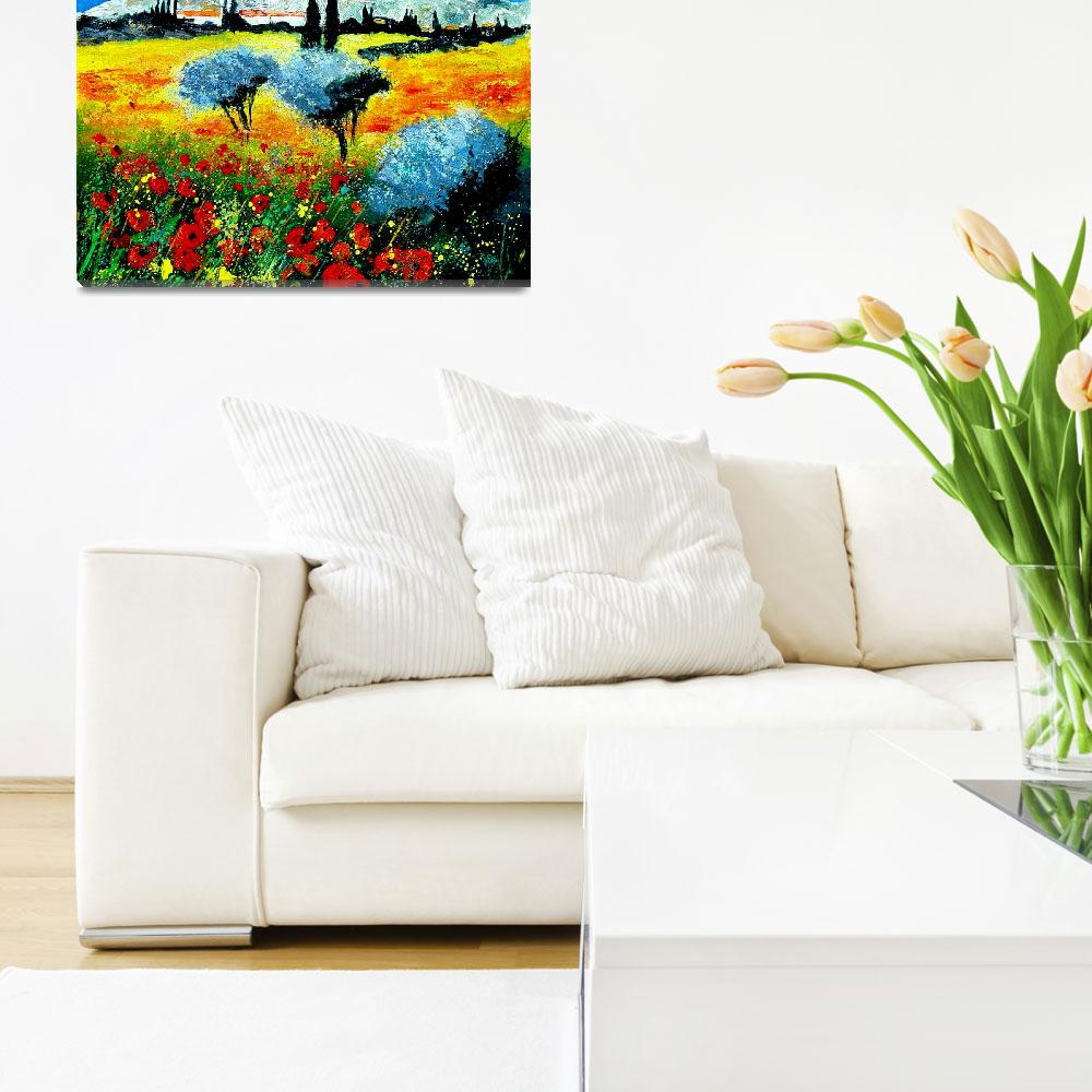 """""""Poppies in Provence""""  by pol"""