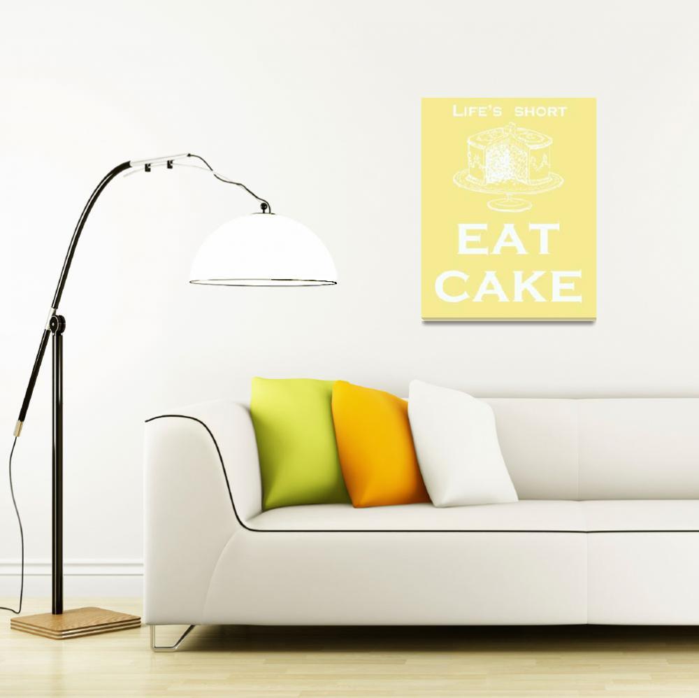 """Eat Cake&quot  (2009) by rickimountain"