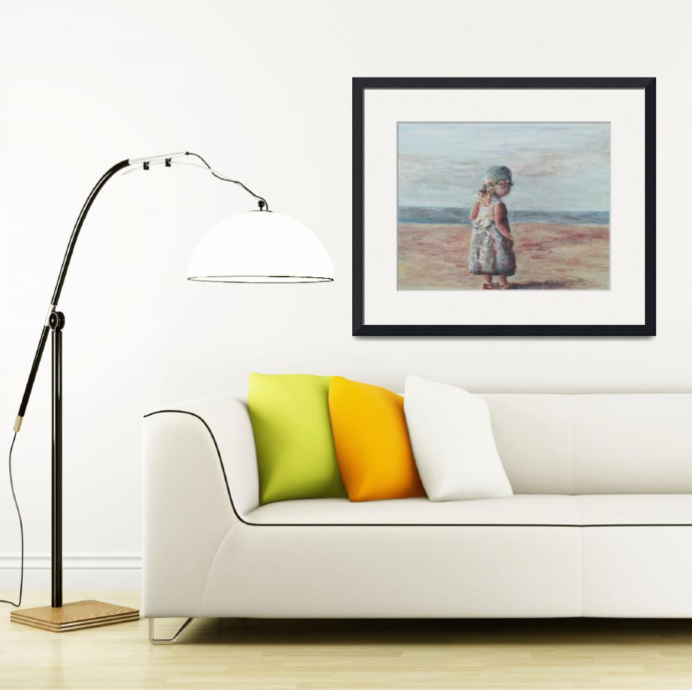 """""""Dutch Girl at Provence Beach&quot  by nadinerippelmeyer"""