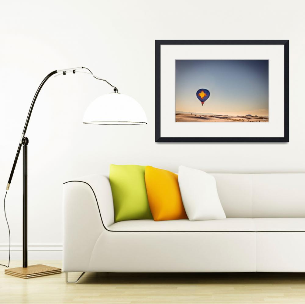 """""""19011 Zia flight at White Sands&quot  by GestaltImagery"""