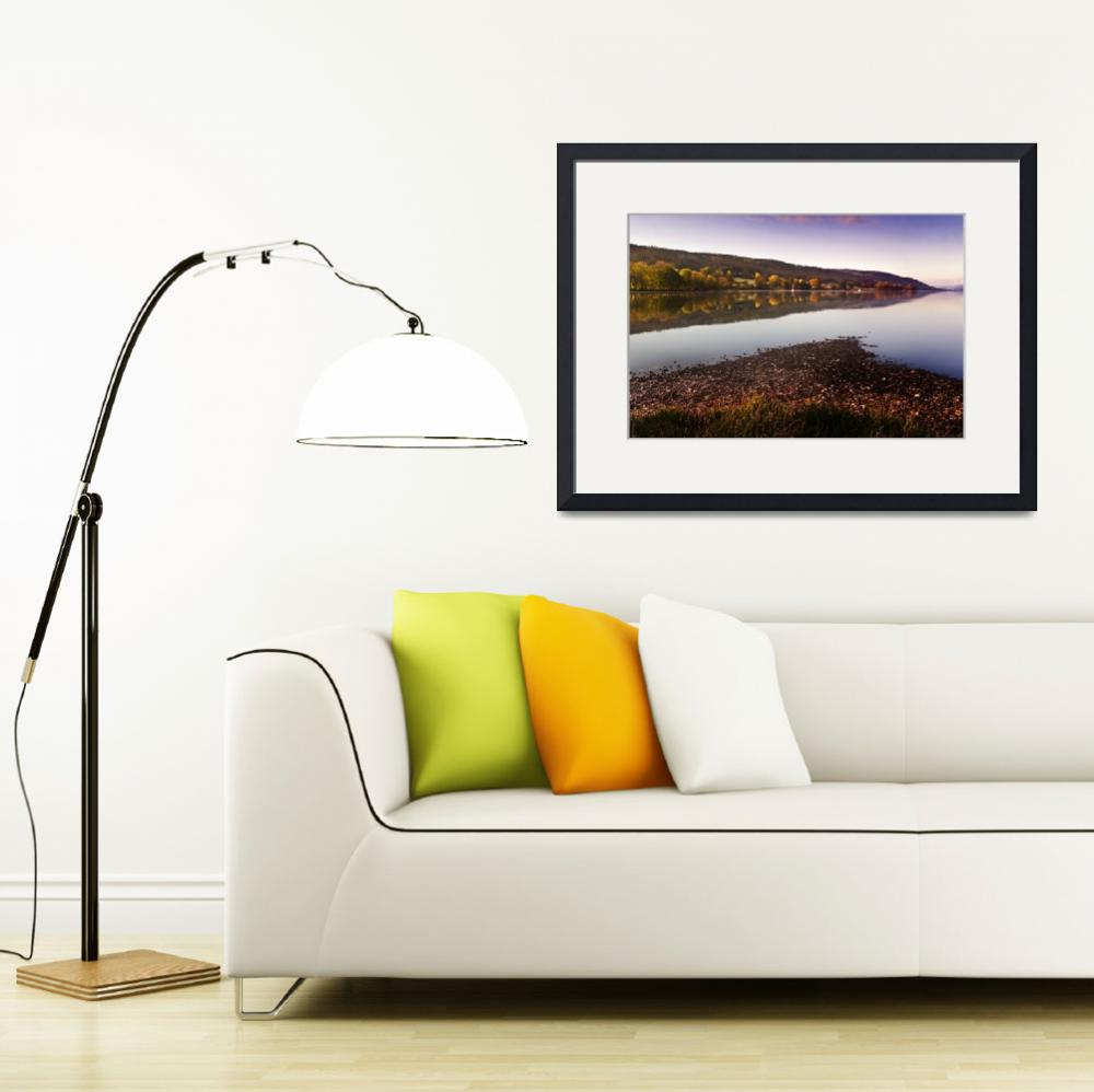 """""""A quiet morning on Coniston&quot  (2010) by oleymoley"""