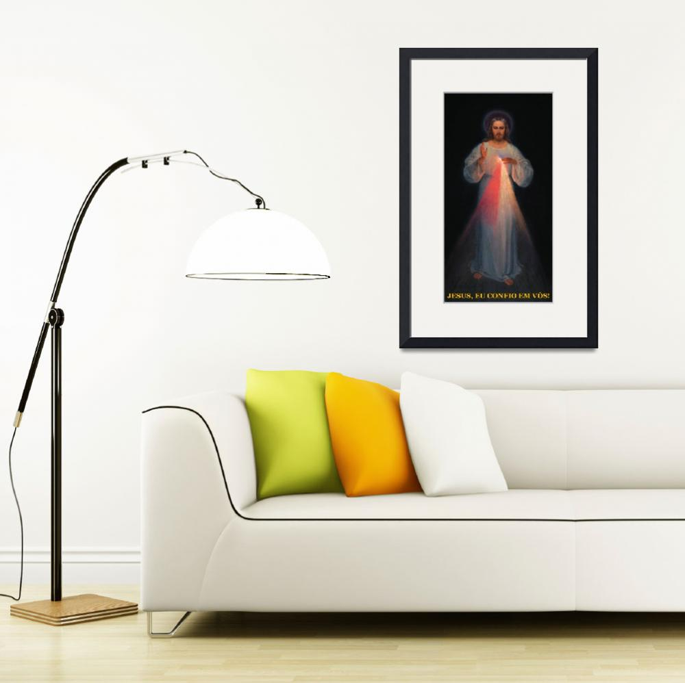 """""""Original Image of The Divine Mercy""""  (1976) by religiousprints"""