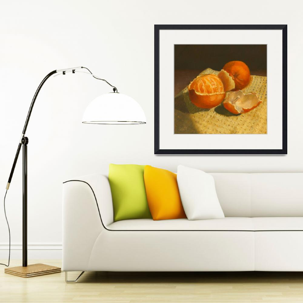 """""""Oranges Still Life&quot  (2014) by dominicwhite"""