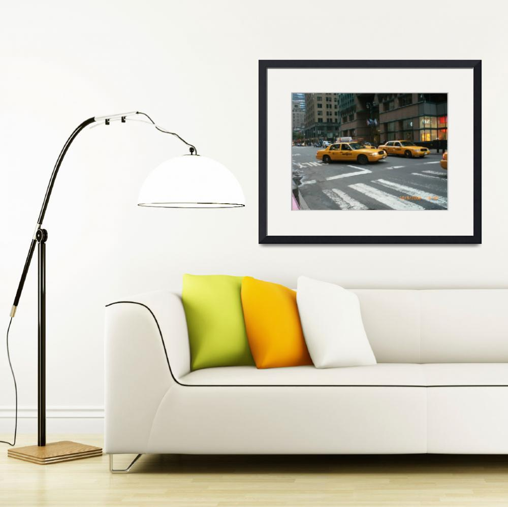 """""""New York Cabs&quot  (2008) by jadavision"""