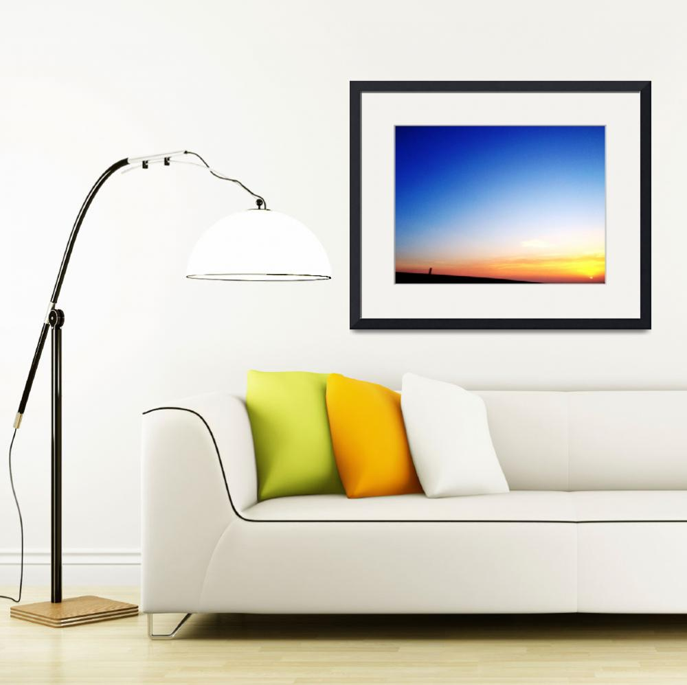 """""""PV Sunset&quot  (2012) by JohnRotaPhotography"""