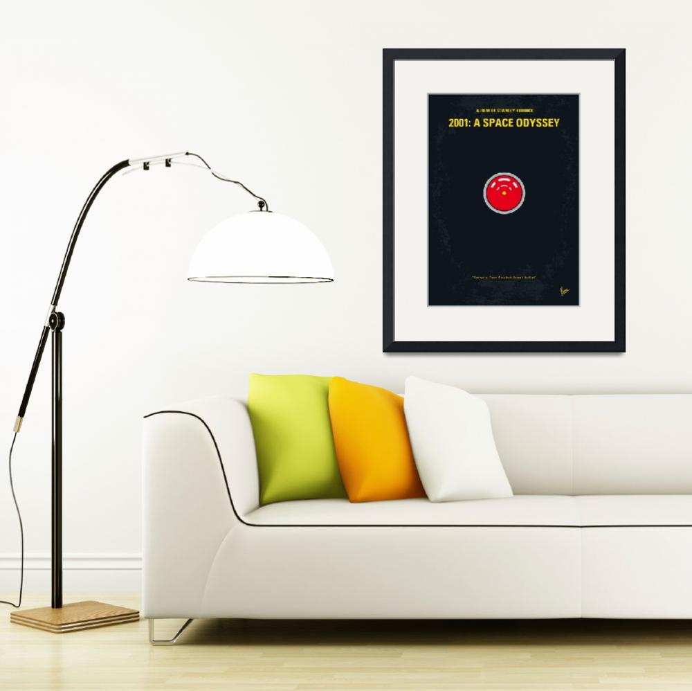 """No003 My 2001 A space odyssey 2000 minimal movie p&quot  by Chungkong"