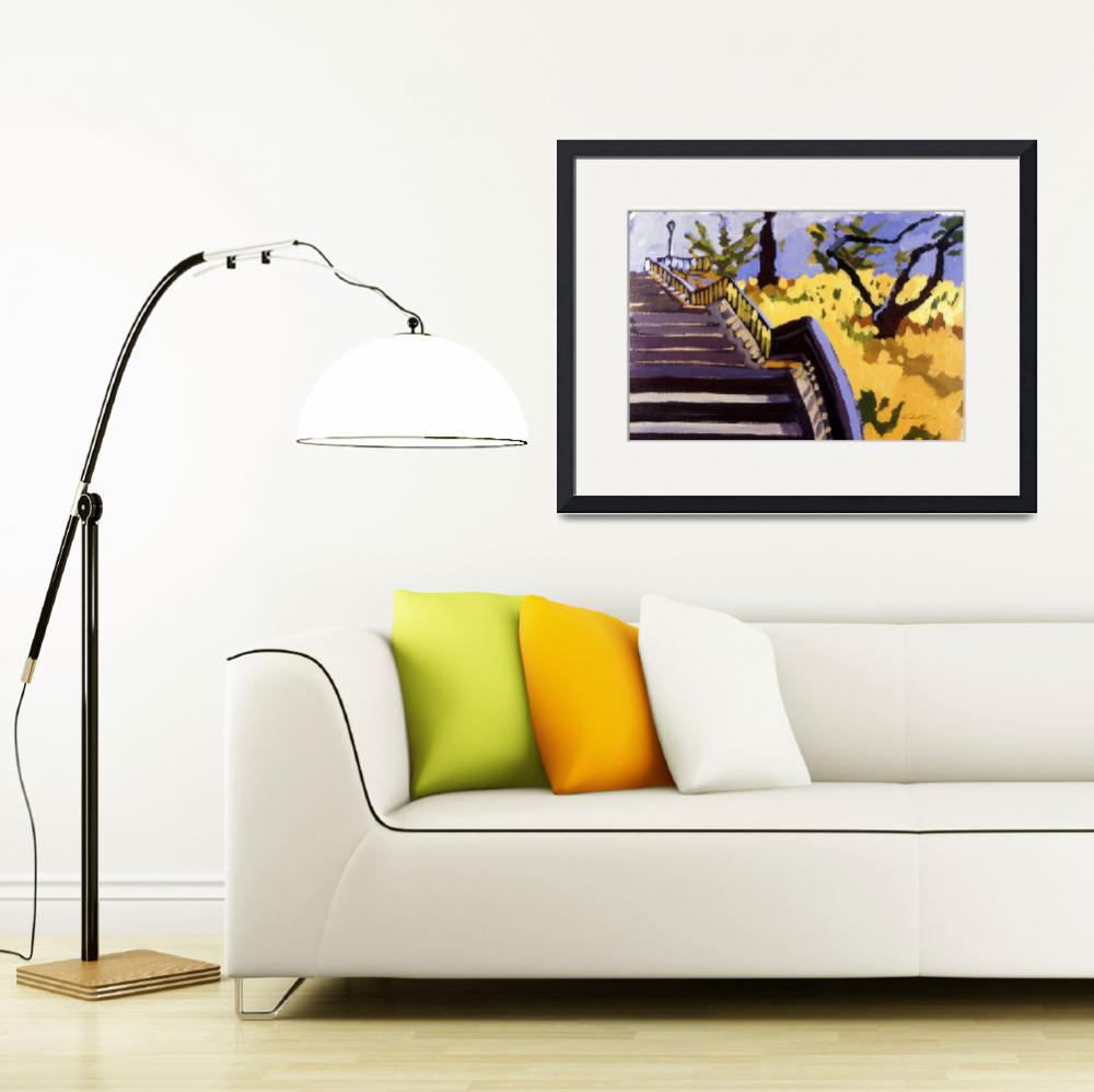 """""""Daffodil Hill&quot  by rogerwhite"""