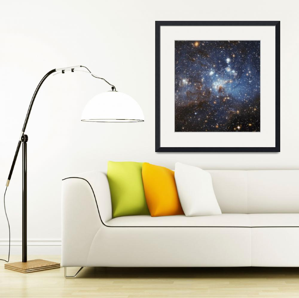 """""""Gas and dust in the Large Magellanic Cloud&quot  by stocktrekimages"""